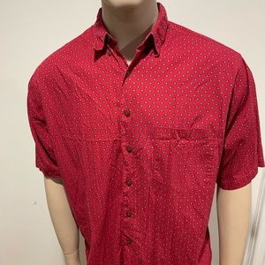 Vintage mens Gap short sleeved button down 80s/90s